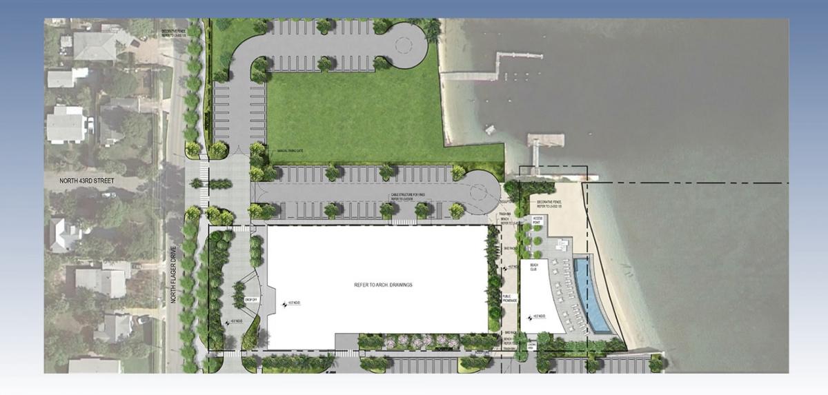 PBA 3 & PBA 1 - Landscape Site Plan