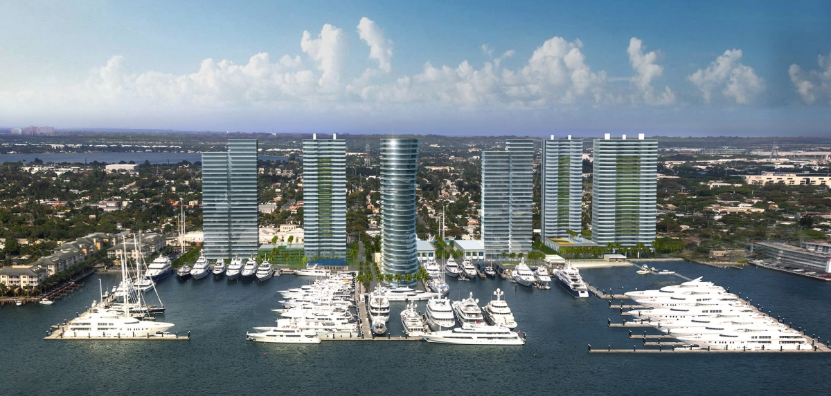 Marina Village - East Rendering